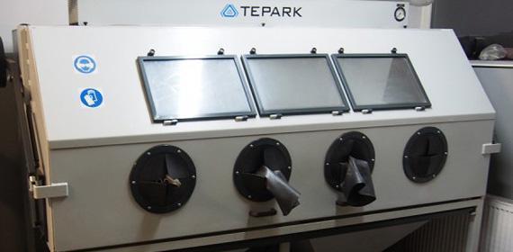 urządzenie doszkiełkowania ipiaskowania