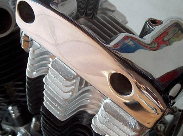 chromowanie elementów motocyklowych