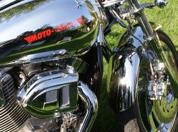 odrestaurowane części motocyklowe