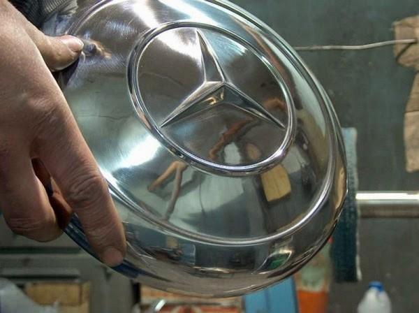 chromowanie części aluminiowych